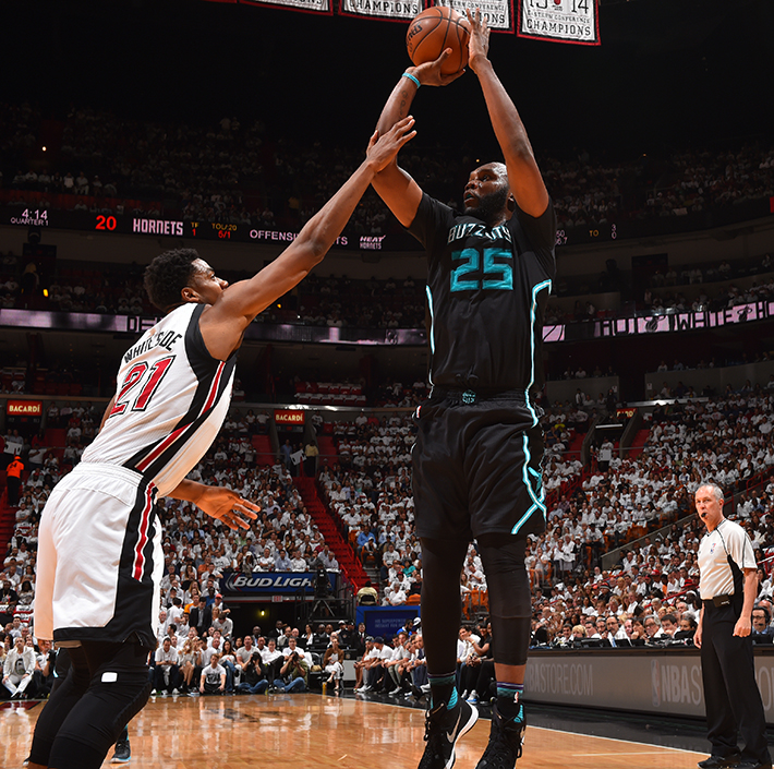 Miami Heat V Charlotte Hornets - Game Five